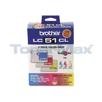 BROTHER MFC-240C INK CARTRIDGES CMY